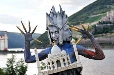 Международный фестиваль боди-арта в Бингене