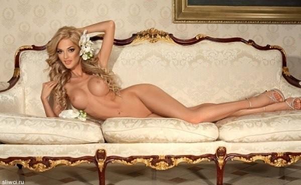 Голая Эрика Герцег на фото из Playboy и Maxim