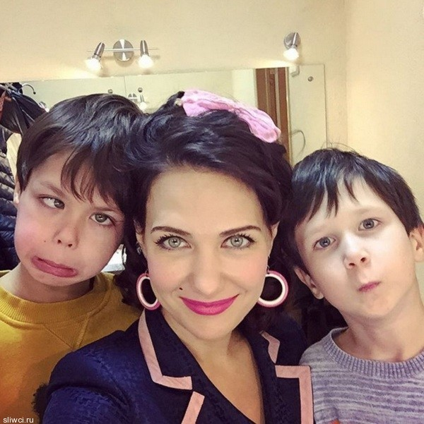 Екатерина Климова показала смешное совместное фото с детьми