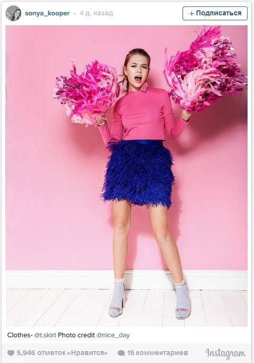Дочь Брежневой снялась в рекламе модного бренда