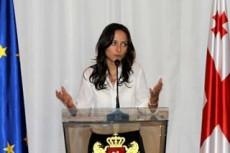 Вера Кобалия, министр экономики Грузии
