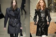 Плащи и тренчи: мода осени 2010