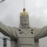 В Польше открыли самую большую статую Иисуса Христа