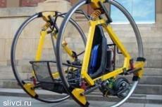 Австралийские студенты построили футуристичный электродицикл