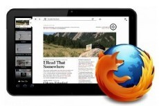 Браузер Firefox выйдет на планшетах