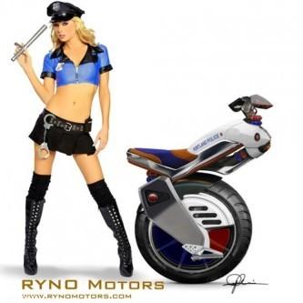 Скутерам Ryno Motors хватает и одного колеса