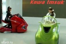 Японцы представили складной электромобиль