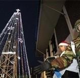 Рождественская елка как оружие