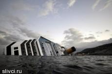 Владелец Costa Concordia обвинил в крушении судна капитана