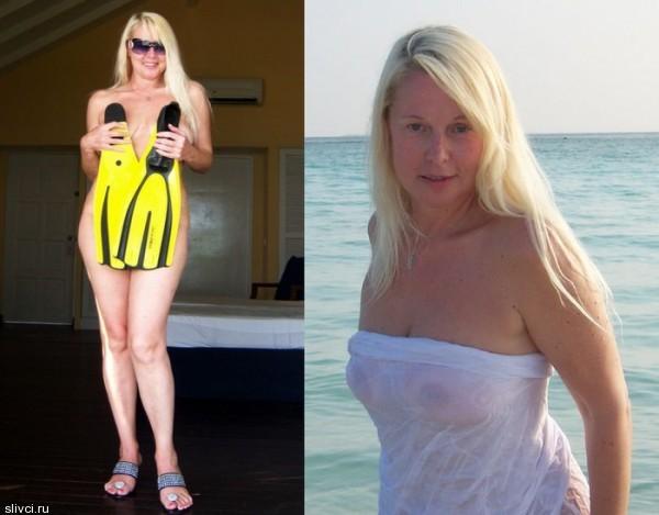 для своих 53 года Елена Кондулайнен весьма хорошо сохранилась, но зачем вся эта история и публичность с откровенными фотоснимками?!