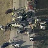 На техасском шоссе столкнулись 79 машин