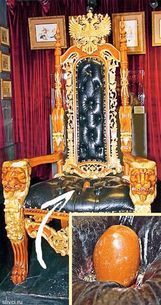 Эротический трон Императрицы