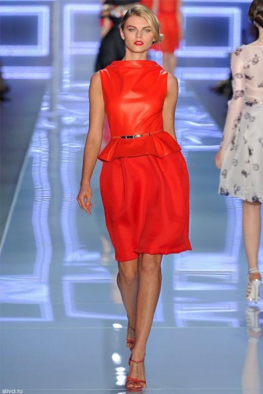 Christian Dior весна-2012 — искушение Парижа
