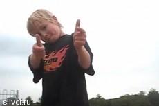 Так катается 8-летний суперскейтбордист