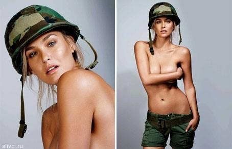очаровательная израильтянка Бар Рафаэли появилась обнаженной на обложке итальянского издания GQ