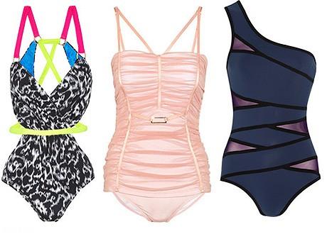 Модные купальники 2012