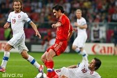 Сборная России разгромила Чехию на старте Евро-2012