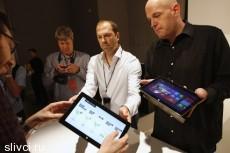 Microsoft показал собственный планшетник