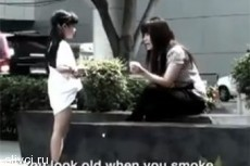 Антитабачная реклама с детьми стала хитом на YouTube