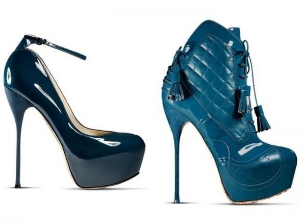 Изысканность в новой коллекции обуви от John Galliano