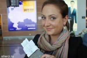 Стюардесса Татьяна Козленко, уволенная из авиакомпании «Аэрофлот» за снимок с неприличным жестом