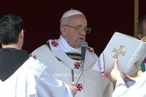 Ватиканен - Интронизация Папы Франциска