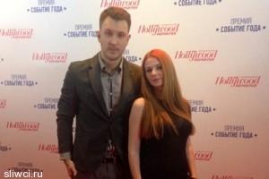 Лена Катина впервые после замужества вышла в свет