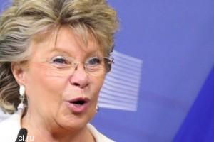 Вице-президент Еврокомиссии отказалась ехать на Олимпиаду в Сочи