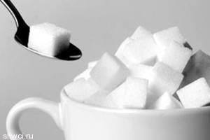 От сахара на лице появляются морщины