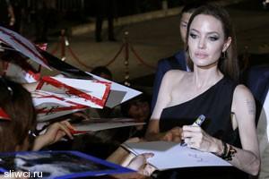 Анджелина Джоли в будущем может стать политиком