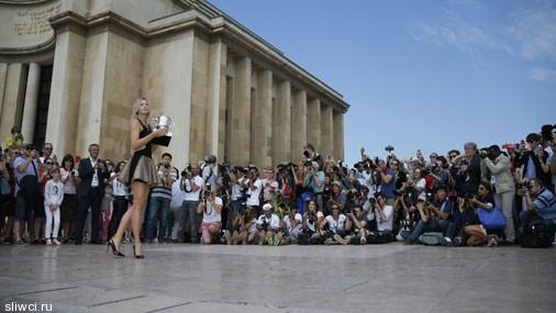 Победная фотосессия Шараповой: ах, эти ноги - весь мир восхищен!