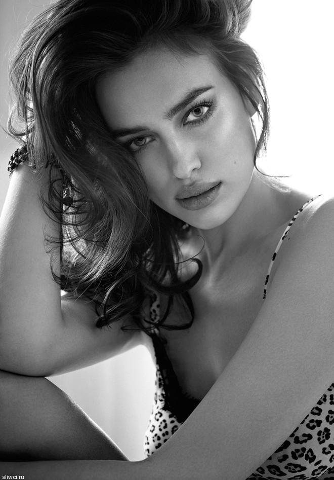 Ирина Шейк в новой рекламе нижнего белья