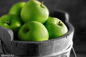 Особая польза зеленых яблок