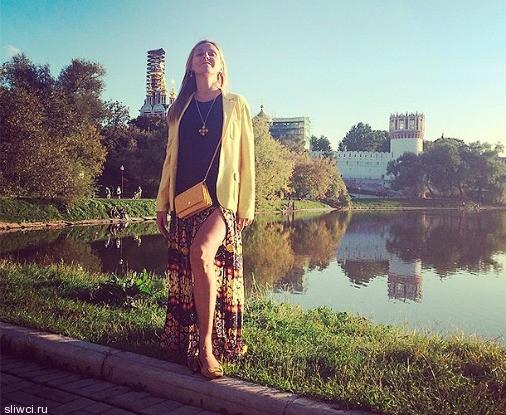 Татьяна Навка вышла в свет после родов