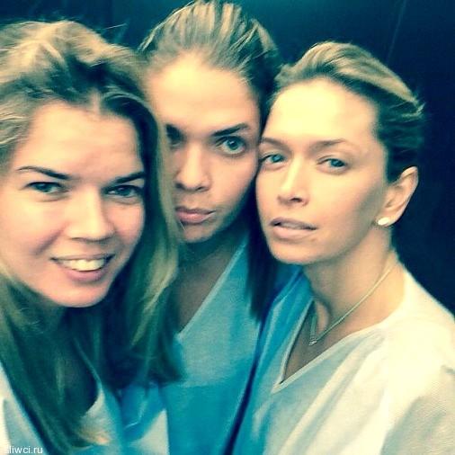 Три девочки а-ля натюрель