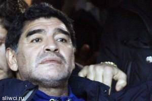 Сборную Палестины может возглавить легендарный Марадона