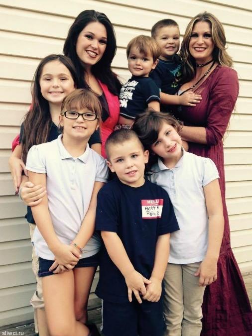 Принцип воспитания от миллионерши - мамы пятерых детей