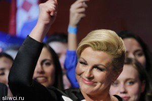 Хорватию впервые возглавит женщина