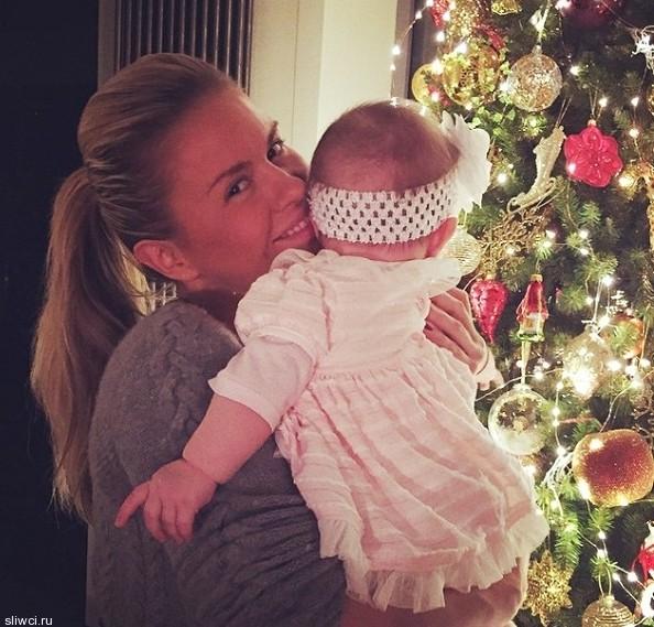 Татьяна Навка поделилась фотографией младшей дочери