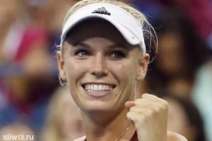 Звезда тенниса Каролин Возняцки разделась для мужчин