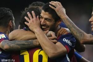 «Барса» учинила разгром в чемпионате Испании