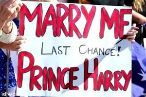 Настырная девушка получила от принца Гарри не просто поцелуй...