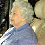 Елизавета II навестила новорожденную правнучку