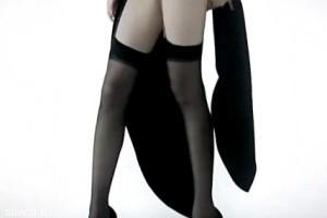 Запредельная длина ног китайской модели!