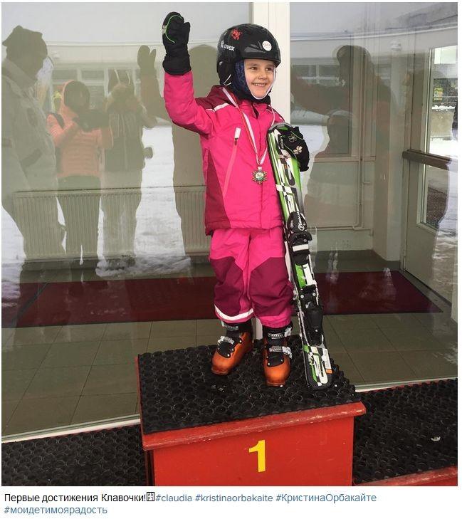 3-летняя дочь Орбакайте стала чемпионкой