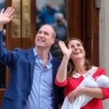 Герцог и герцогиня показали новорожденного принца