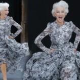 74-летняя Хелен Миррен эффектно пробежалась босиком